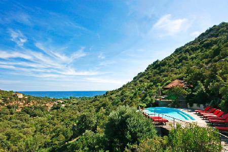 Close to the Beach! Modern Family-Friendly Villa Dominique with Private Pool, BBQ & Sea View - Image 1 - Porto-Vecchio - rentals
