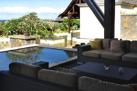 Thalie 14 features pools, covered terrace, resort access and a home theatre - Image 1 - Bel Ombre - rentals