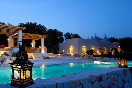 Villa Cervarolo - Stylish hideaway near Medieval town of Ostuni, with pool & beautiful views - Image 1 - Ostuni - rentals