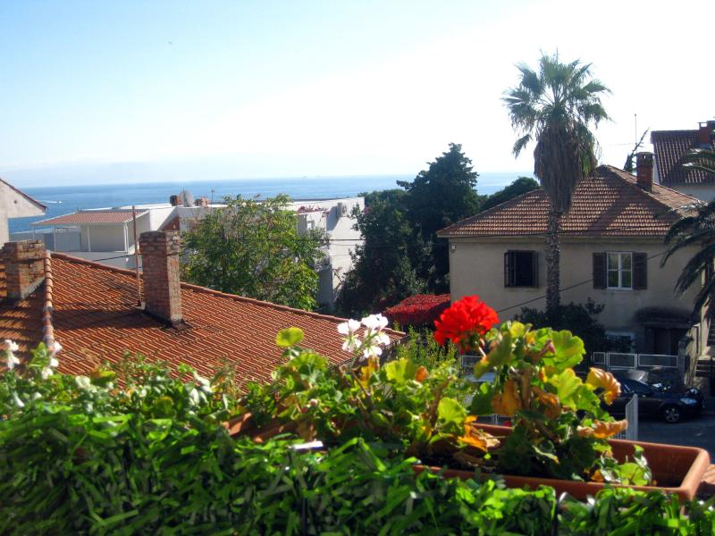 view from  south balcony - Residential Leo apartment close to the beaches - Split - rentals