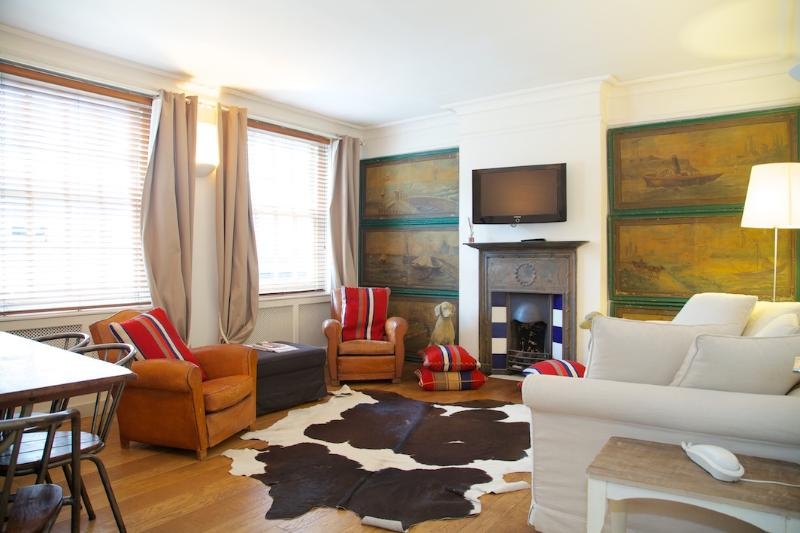 Living Room - Carlyle House, Chelsea, SW3 - London - rentals