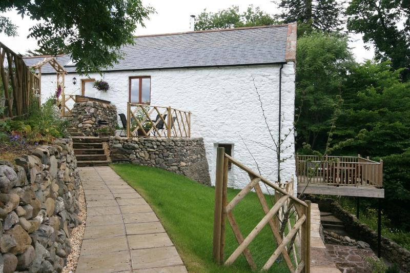 side view of cottage - Allanton Mill Cottage - Dumfries - rentals