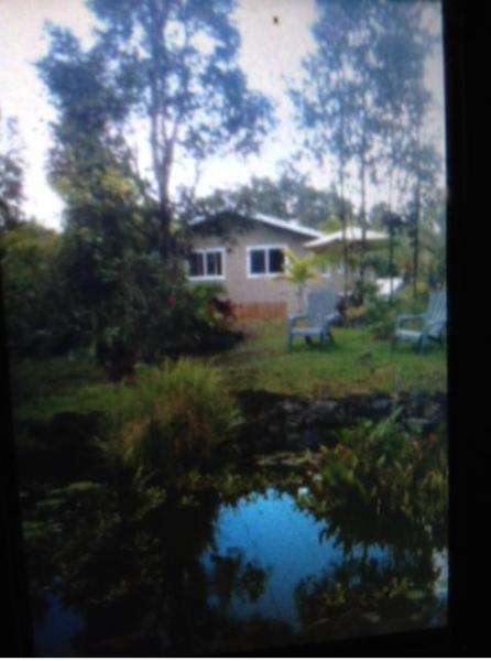 Front yard - Private Cottage in prime location - Keaau - rentals