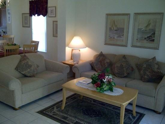 Living Area - EI3T8452CCL Disney Resort Elegant Townhouse Unit - Orlando - rentals
