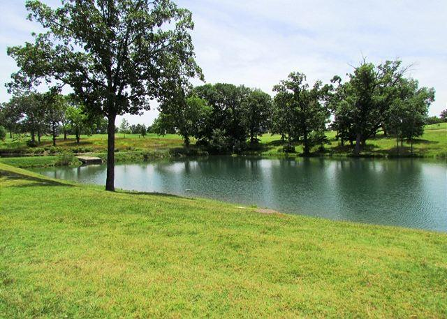 View from Patio - Carefree Getaways- 2 Bedroom, 2 Bath Condo Overlooks Golf Course - Branson - rentals