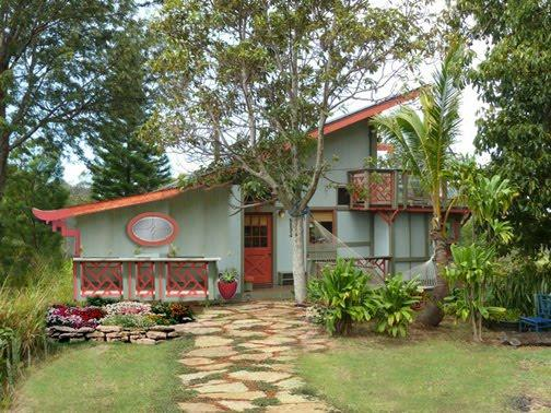 Sweet 2BR Ocean View Home Above Rainforest Canopy - Image 1 - Makawao - rentals