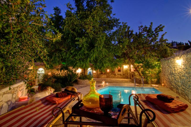 Pool - Eleni's Stately Home, Privacy, Pool & Garden! - Rethymnon Prefecture - rentals