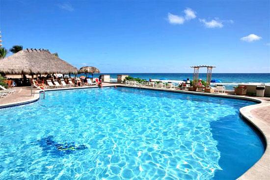 Pool and ocean connect - Ocean front studio apartment - Fort Lauderdale - rentals