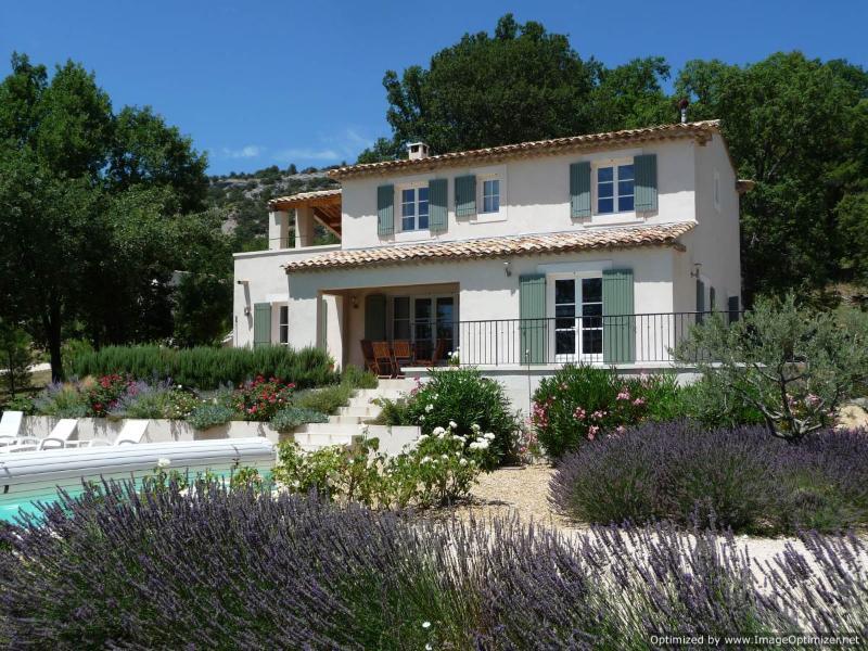 Le Chene awaits you! - Walk to village, fabulous views, own pool & WiFi - Saint-Saturnin-les-Apt - rentals