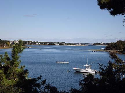View of Pleasant Bay from House - Chatham  Cape Cod Waterfront Vacation Rental (6520) - Chatham - rentals