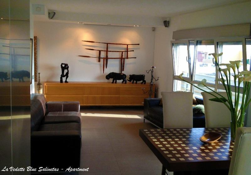 La Vedette Blue Salinetas - Apartment - Gran Canaria - Living Room - La Vedette Blue Salinetas Apartment - San Agustin - rentals