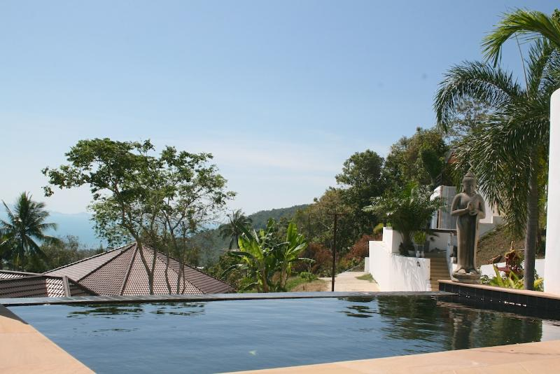 Private Pool and Lounge Area with a breathtaking view of the island and the South China Sea - BM01 3BR Zen Villa - Koh Samui - Koh Samui - rentals