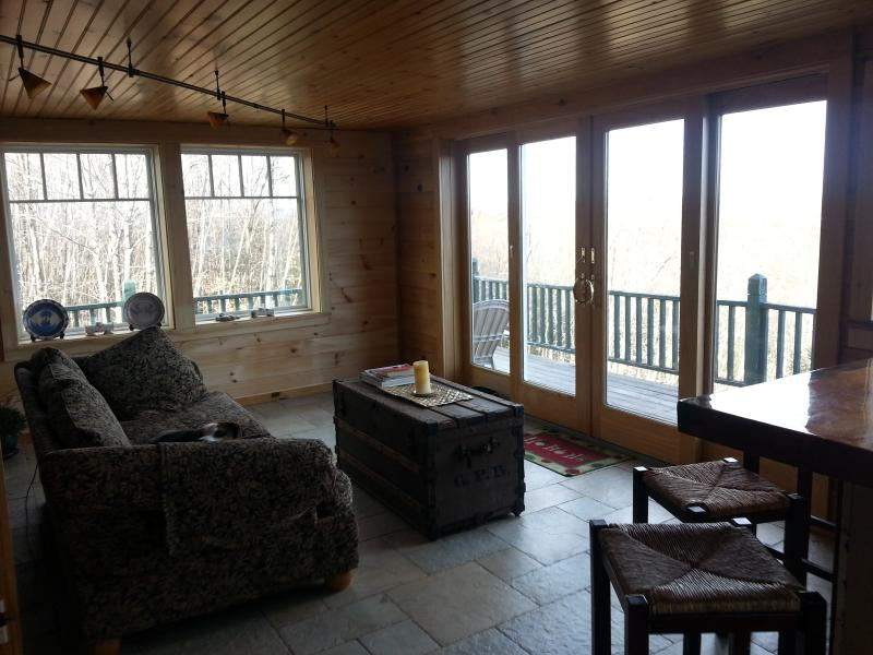 sitting area facing southeast - WindWhistle Farm 3br/1 loft/ 2ba - Naples - rentals