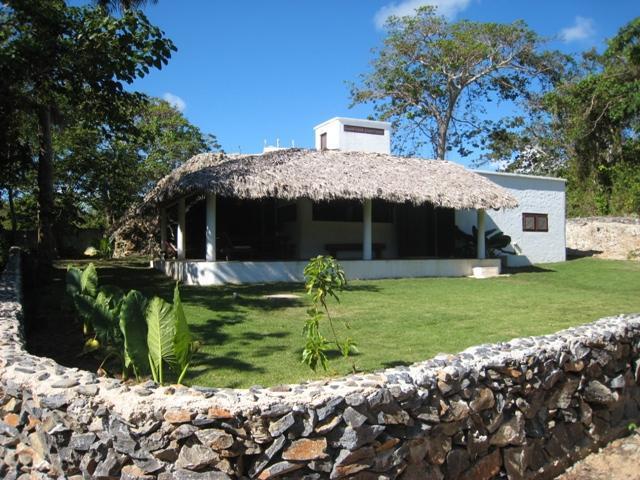 View of the House - La Cueva eco-lodge - Las Galeras - rentals