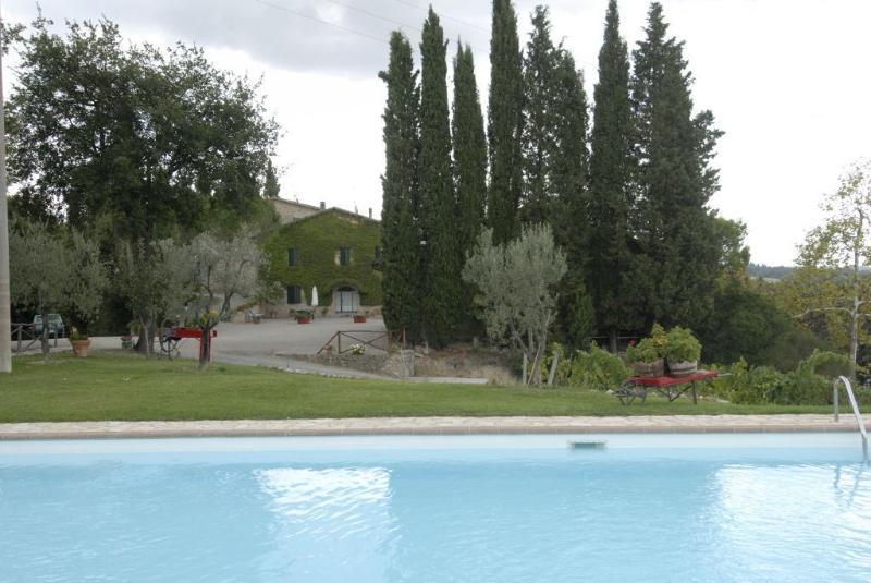 farm - Tuscan countryhouse apartment in San Gimignano - San Gimignano - rentals