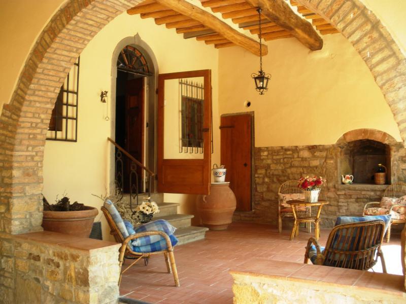 the porches - Typical house in Chianti - San Casciano in Val di Pesa - rentals