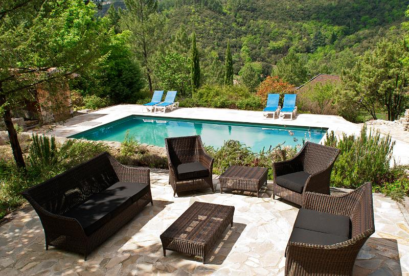View over the house - Beautiful holiday house in the south of France - Anduze - rentals