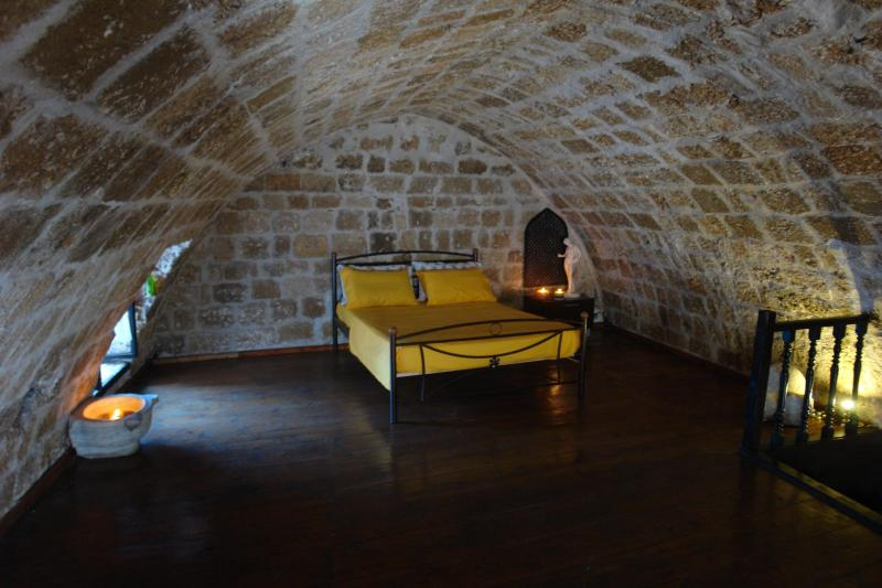 ILIOS house bedroom - ''Ilios House''  in  the  Old Medieval Town of  Rhodes! - Rhodes Town - rentals