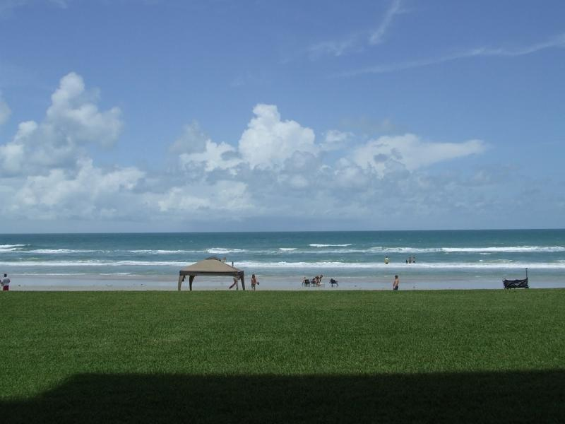 View from Living Room - 30 ft. to the Amazing No Drive Beach in New Smyrna Beach - Direct Ocean Front - Amazing Ocean Views-1st Floor - New Smyrna Beach - rentals