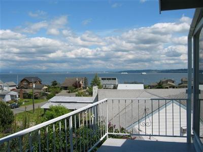 Deck View - Beautiful Whidbey View House - Clinton - rentals