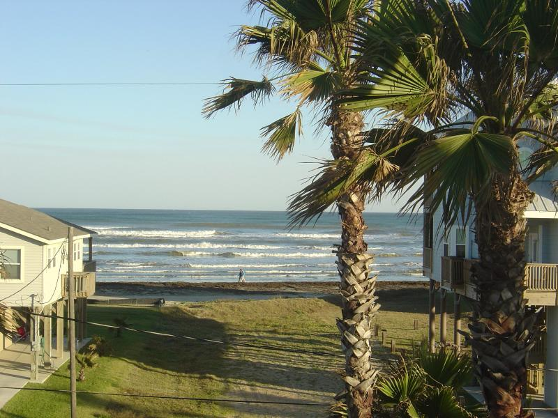 Ocean view from deck - Seaview Island Getaway - Galveston - rentals