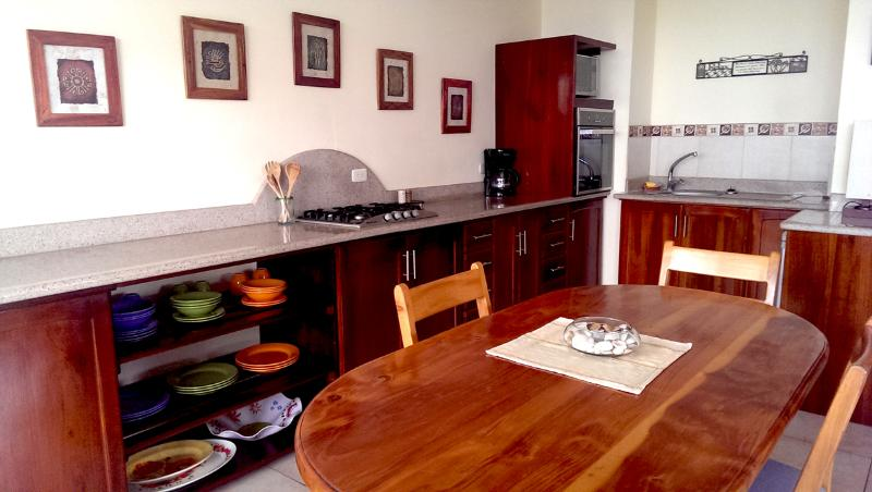 Kitchen - Beautiful Oceanview Condo in Bahia Ecuador - Bahia de Caraquez - rentals