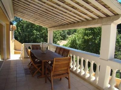 Upper Terrace and Countryside - Townhouse in St Tropez Town - Saint-Tropez - rentals