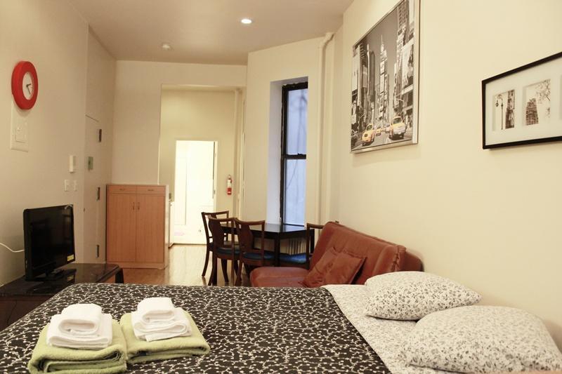 Duplex Hells Kitchen 1BR,1.5BA on 49st - Image 1 - New York City - rentals