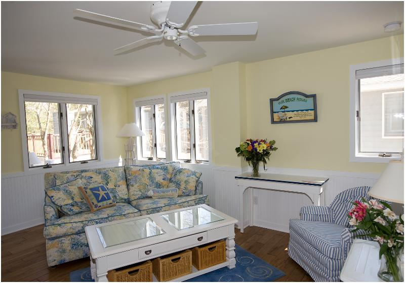 2nd Floor Living Area - 15B Cookman St  - 3 Seas Cottages - Rehoboth Beach - rentals