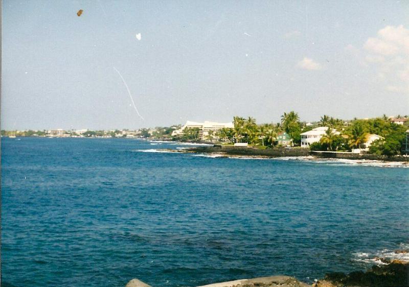 View from your lanai or living room - Outstanding Beachfront Condo-walk To Downtown Kona - Kailua-Kona - rentals