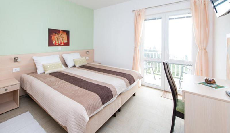 Bedroom - Nice partment with balcony in Plat by Dubrovnik - Plat - rentals