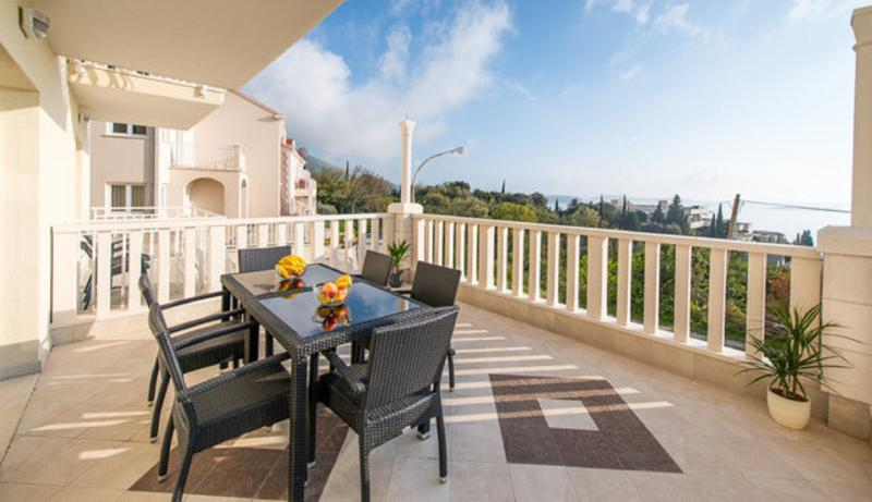 Holiday flat terrace - Holiday flat with two double bedrooms in Plat - Plat - rentals