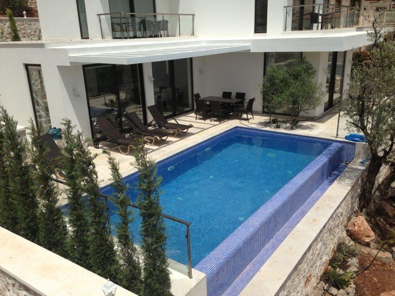 (002VA1) Fantastic Sea View Villa - Image 1 - Kalkan - rentals