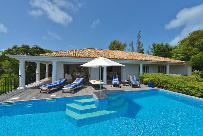 SPECIAL OFFER: St. Martin Villa 92 Very Open Brand New 2 Bedroom Villa With A Great Long Bay View, 5 Minutes Driving From The Beach. - Image 1 - Terres Basses - rentals