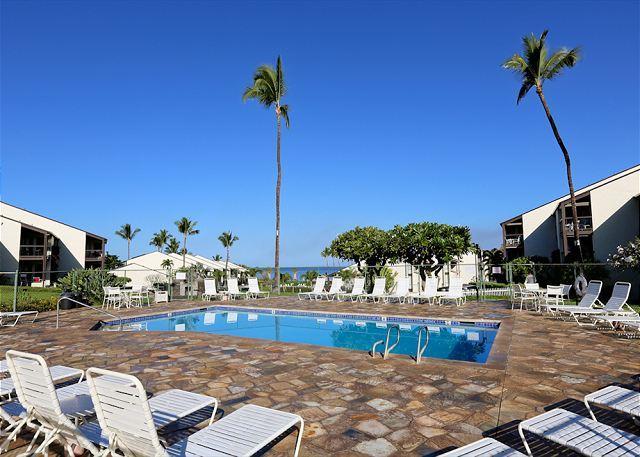 The pool at Hale Kamaole - Hale Kamaole #135 South Shore, Great Location, Great Rates, Sleeps 4 - Kihei - rentals