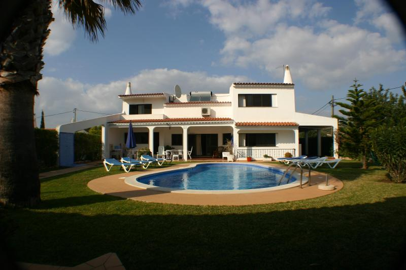 Rear of Villa Fatima - Villa Fatima Luxury 5 star holiday home Portugal - Albufeira - rentals