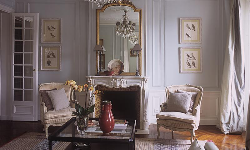 Graceful, inviting living room - Luxury Apartment, Just Steps to the Champs-Elysees - Paris - rentals
