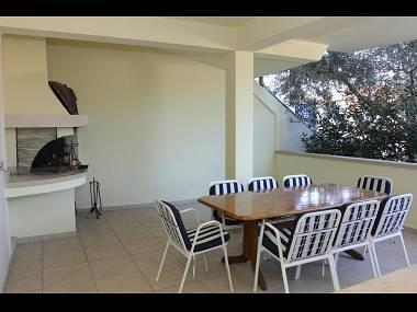 H(10): terrace - 7290  H(10) - Supetar - Supetar - rentals