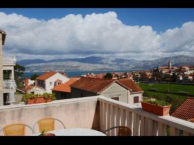 A2(4+1): terrace view - 7296 A2(4+1) - Postira - Postira - rentals