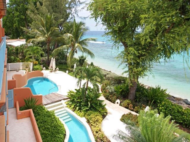 Villas on the Beach #303 at St. James, Barbados - Beachfront, Communal Pool, Easy Walking Distance To Shopping, Bars And Bistros_old_old - Image 1 - Saint James - rentals