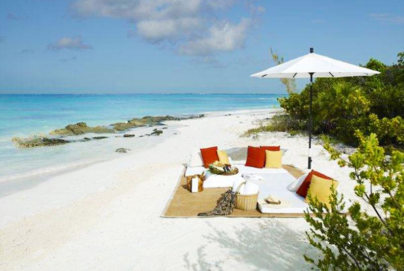Turks And Caicos Villa 43 A Large Sundeck With Private Pool And Outdoor Dining Area As Well As Direct Access To The Sand. - Image 1 - Parrot Cay - rentals