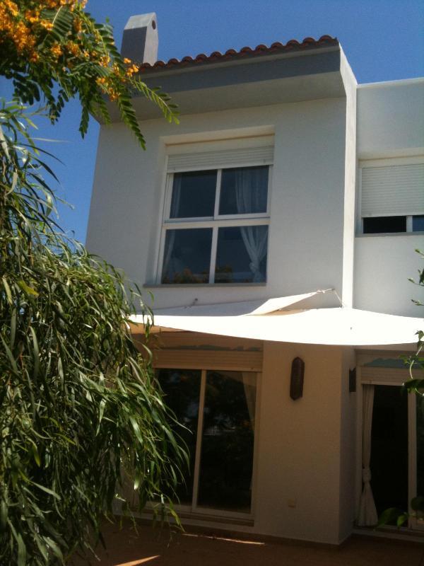 Vista desde el jardin - Casa en Ibiza - Sant Antoni de Portmany - rentals