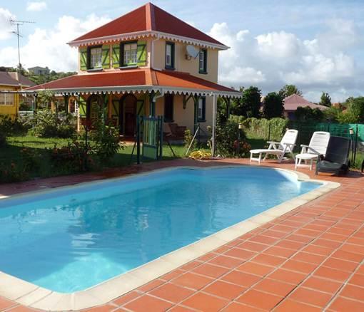 Villa et piscine - VILLA KANASUC, ECRIN DE DOUCEUR DANS HAVRE DE PAIX - Sainte-Anne - rentals
