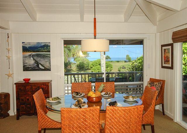 15% of March!! Steps to the Beach, Beautiful Hanalei Bay ocean views!! - Image 1 - Hanalei - rentals