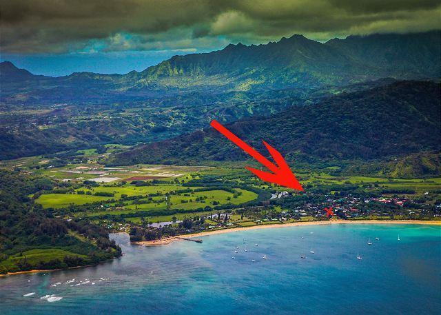 Steps to the Beach, Beautiful Hanalei Bay ocean views! 20% off August Dates!! - Image 1 - Hanalei - rentals
