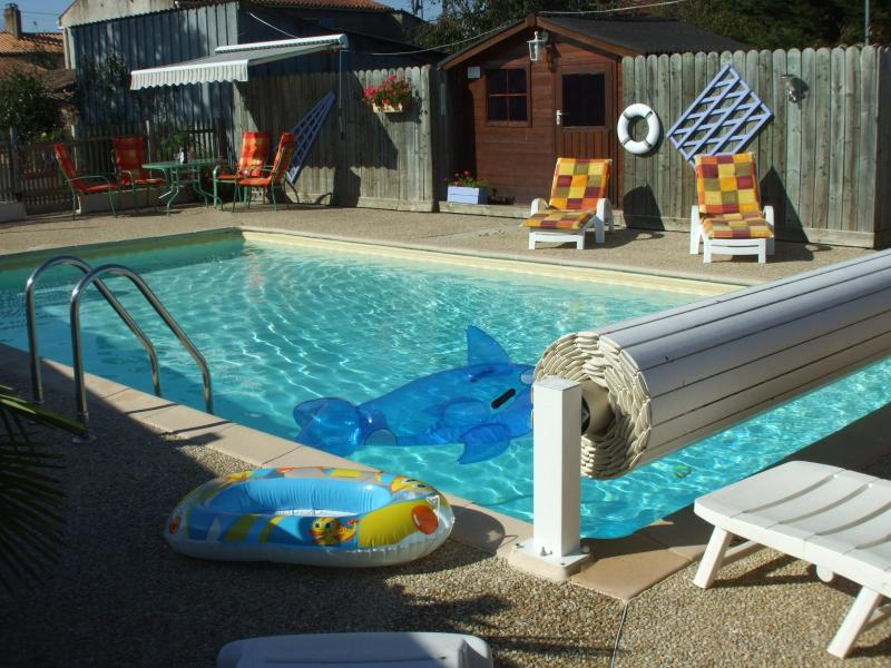 Pool Terrace - The Gite de L'andoussiere - Saint-Andre-Treize-Voies - rentals