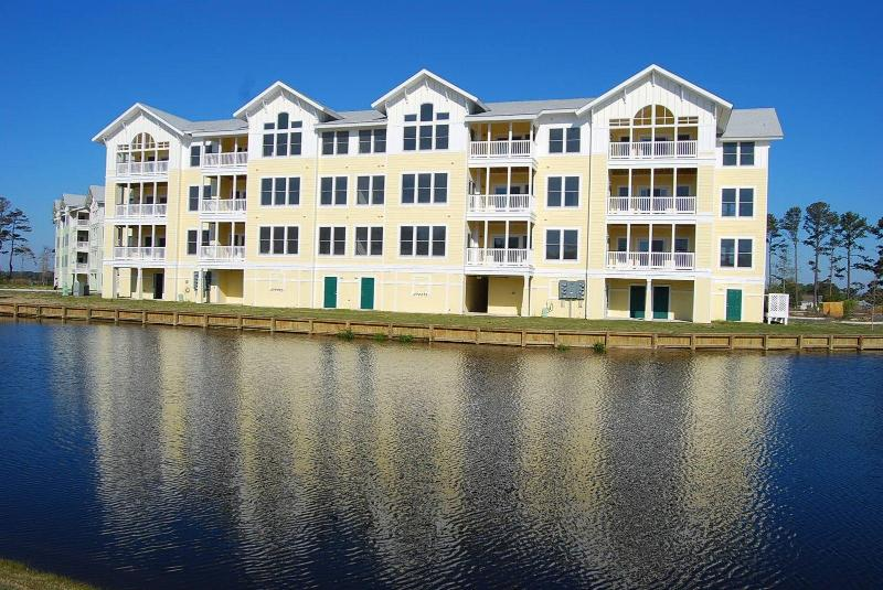 Exterior - Hamilton Cay, 2 Bedroom Condo, Waterpark Access - Kill Devil Hills - rentals