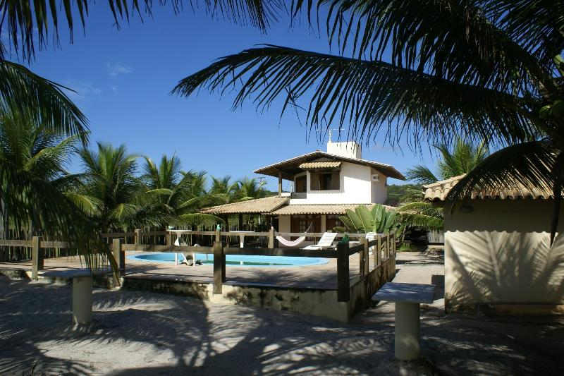 Beachside view - Beach house in Bahia, Brazil on Atlantic ocean - Ilheus - rentals