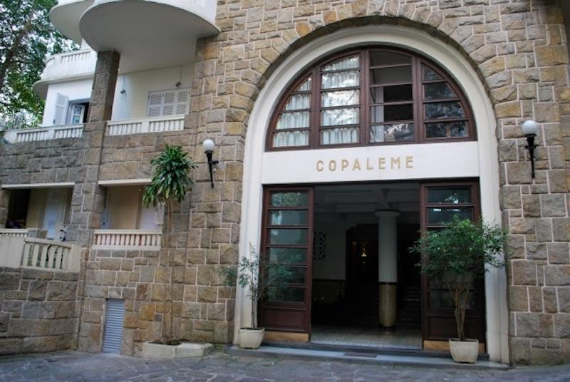 Building Entrance - COPALEME Located 1 block from the beach Leme this - Rio de Janeiro - rentals