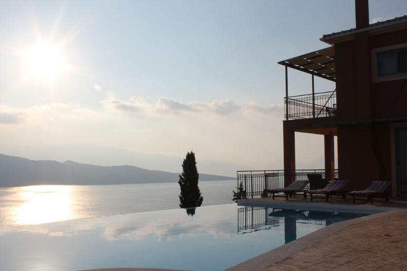 Luxury villa in Lefkas, with private swimming pool - Image 1 - Lefkas - rentals